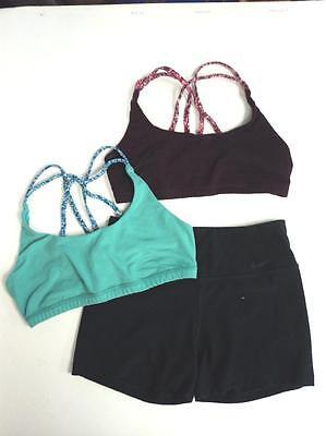 Dance Clothes Costume 2 Bra Tops Nike Shorts Ballet Jazz Tap - 1 Day FLASH SALE (Flash Dance Costume)