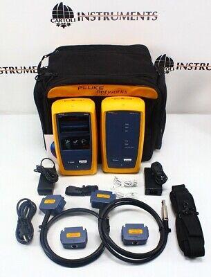 Fluke Networks Dsx-8000 Versiv Cat6a Cat8 Lan Cable Certifier Dsx-8000 Dsx 8000