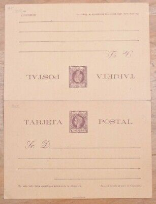 MayfairStamps Habana 1898 2 Cents Famous Person Mint Stationery Reply Card wwo79