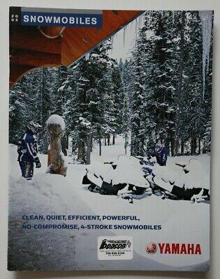 Vintage - Yamaha Snowmobile Brochure