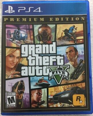 Grand Theft Auto V (Sony PlayStation 4, 2013)