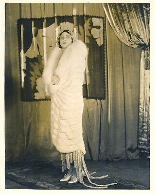 POLA NEGRI 1930s FASHION POSE - DOUBLEWEIGHT - N. MINT
