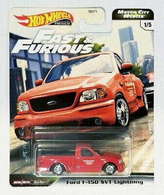 Hot Wheels Premium Car Culture Fast & Furious Ford F-150 SVT Lightning #1/5