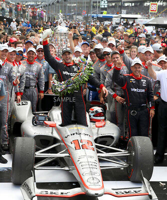 Will Power 2018 Indianapolis Indy 500 Winner 8X10 Photo