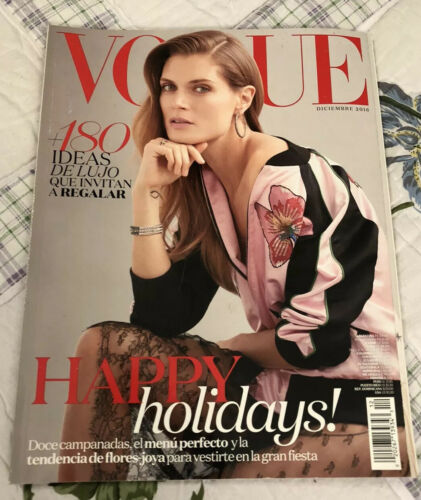 Vogue Latinoamerica Magazine Dec 2016 180 Ideas De Lujo Que Invitan A Regalar - $16.00