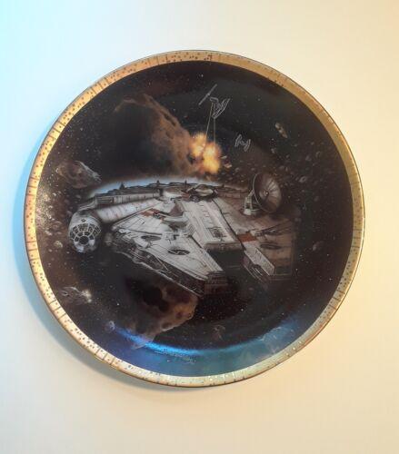 Star Wars Millenium Falcon Hamilton Collector Plate