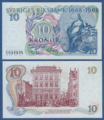 SCHWEDEN / SWEDEN 5 Kronor 1968 UNC  P.56