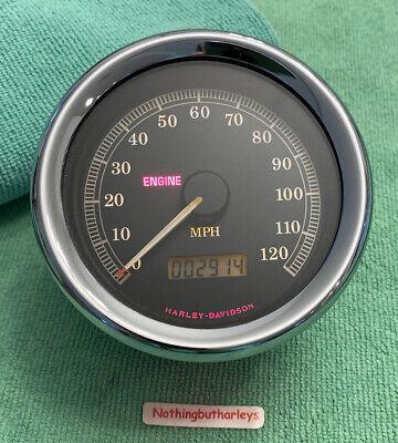 😲 Harley Davidson Speedometer 67037-99 99-03 Sportster 883 1200  2,914 Miles 😲