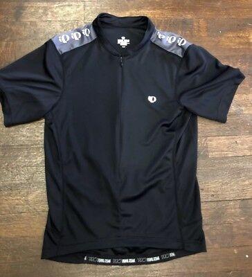 Men s Pearl Izumi Select Series Short Sleeve Bike Cycling Jersey Black Small  EUC d4d044e57