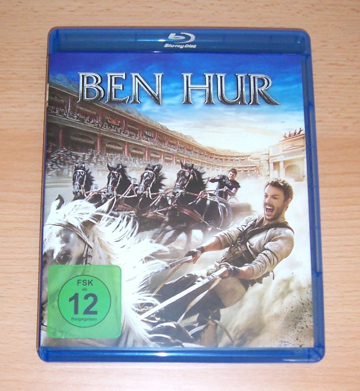 BEN HUR, Blu Ray, Jack Huston, Toby Kebbell und Morgan Freeman