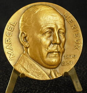 <b>...</b> Medaille-<b>Marcel-Merieux</b>-biochimiste-chimiste-Scientifique-Lyon-Medal - %24_35
