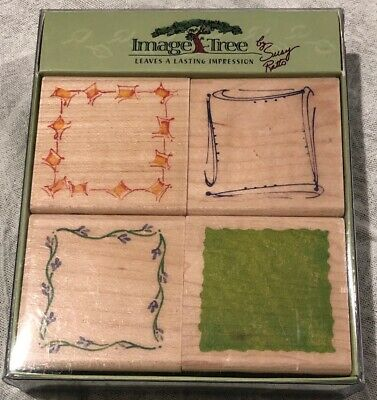 Image Tree Rubber Stamps - Image Tree Rubber Stamps Leaves A Lasting Impression By Susy Retto New Set Four