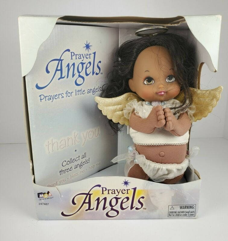 MGA Prayer Angels African American Doll In Original Box - Thank You Prayer