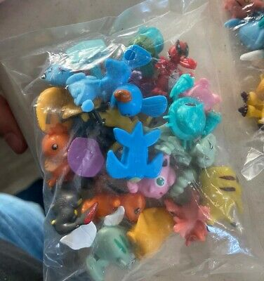 24pc pokemon Mini Figures- Super Cute Authentic Mini Figures- Brand New PrePack