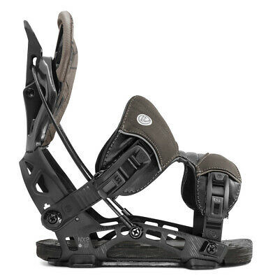 2020 FLOW NX2 GT Fusion Snowboard Bindings NEW Large (7.5-11) NEW Charcoal