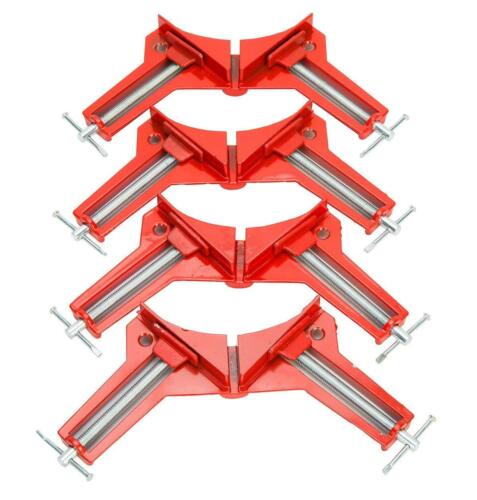4 Stück HSM Gehrungszwingen 75mm Winkelspanner Winkelzwinge 90° Eckzwinge