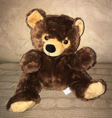 KellyToy Bear Plush Hand Puppet Stuffed Toy 12