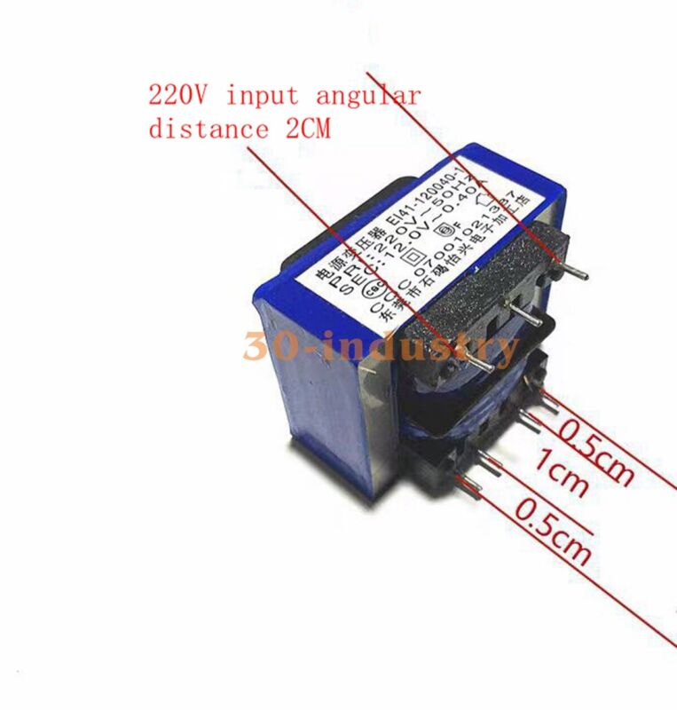 1PCS For Range Hood Water Heater Power Transformer 12V400mA 7 Feet E141-120040-1