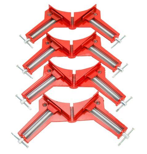 4 Stück Gehrungszwingen Winkelzwinge Winkelspanner Eckzwinge Gehrungszwinge 75mm