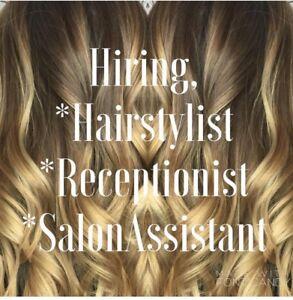 Hiring salon receptionist / assistant
