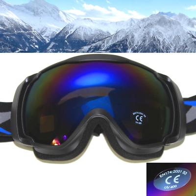 SKIBRILLE S3 Sonnenfilter glacier UV400 Schwarz Herren Schneebrille ~yx05 2053