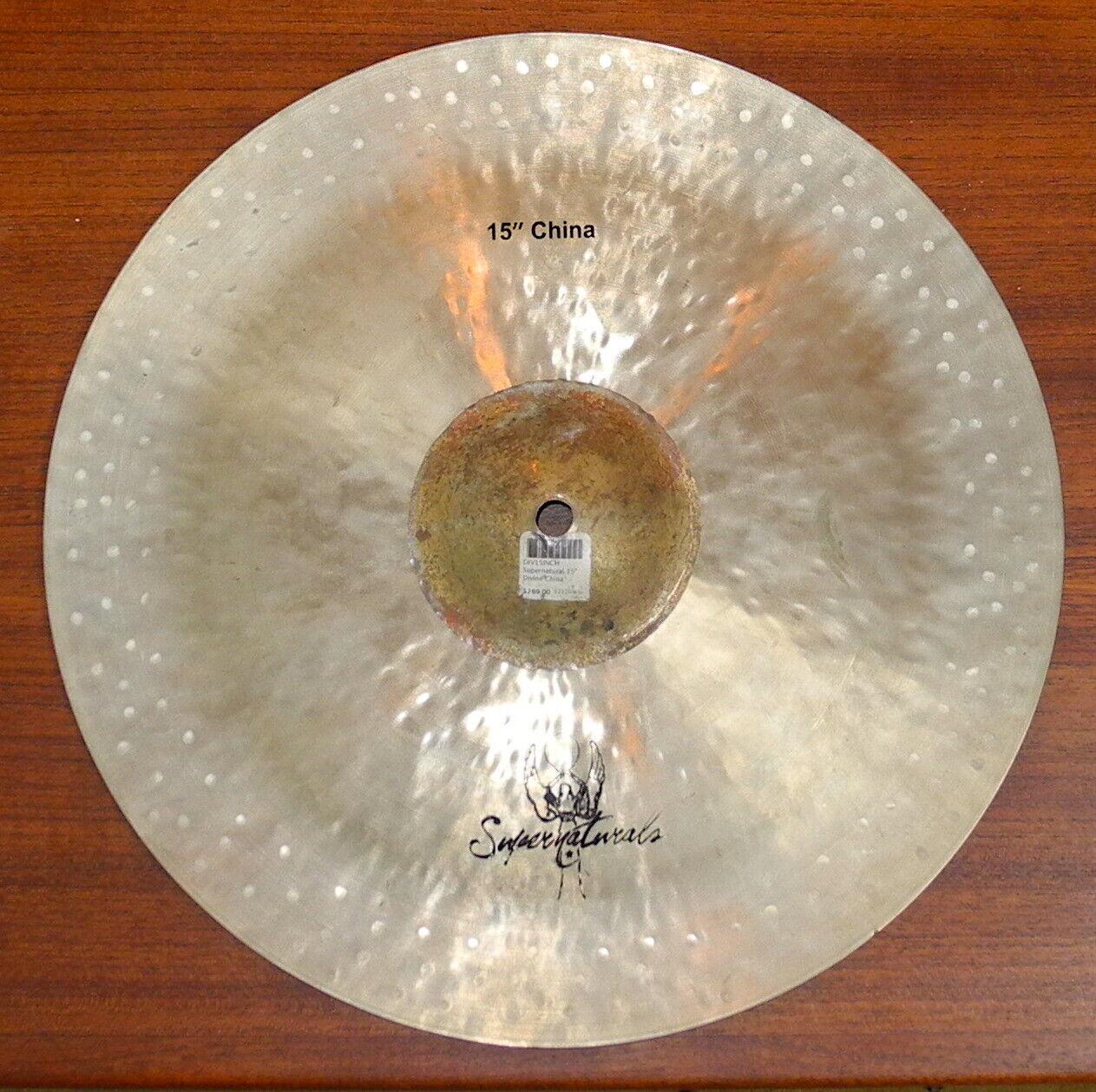 Supernaturals 15 Inch Divine China Drum Cymbal - $79.99