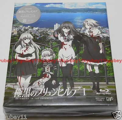 New Gokukoku no Brynhildr in the Darkness Blu-ray Box I 1 CD Booklet Japan Anime