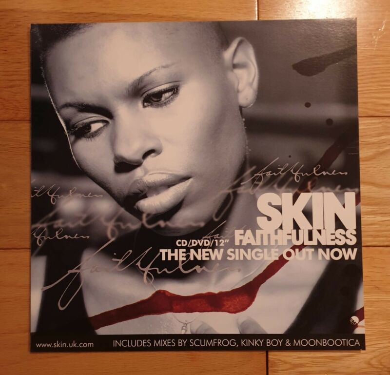 Skin Faithfulness Promo Poster Ultra Rare