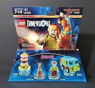 Lego Dimensions Team Pack Scooby-Doo Set No. 71206 (New)