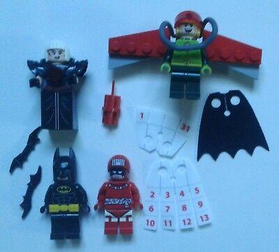 LEGO Batman Movie CALENDAR MAN Minifigure From Set 70903 NEW D14
