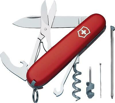 Victorinox Compact Swiss Army Knife Red 1.3405-X1 New in Box Multi-Tool 91mm EDC