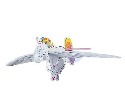 12 Flying Unicorn Gliders Airplane Mythical Rainbow Kid's Birthday Party Favors  (Unicorn Rainbows)