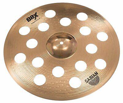 "Sabian 18"" B8X Ozone Crash Cymbal 41800X, used for sale  Shipping to Ireland"
