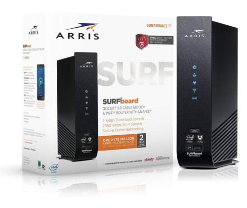 ARRIS SURFboard Wireless-AC Dual-band Wi-Fi Router SBG7400AC2