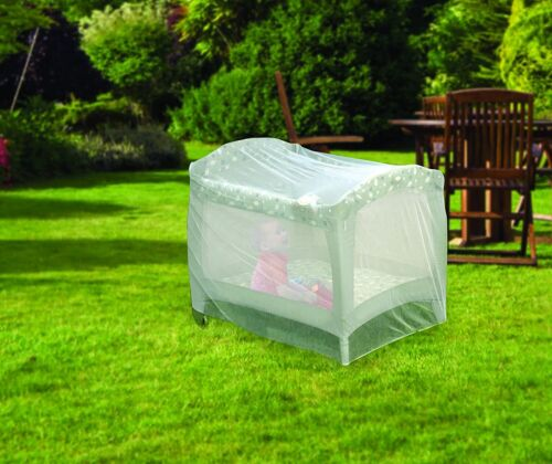 Crib Playpen Mosquito Bug Net Baby Infant Protection Universal Size Pack N Play