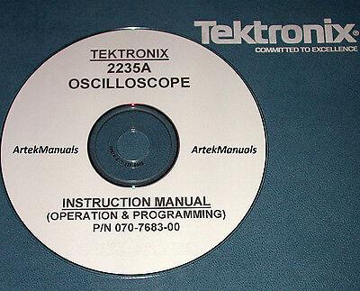 Tek 2235a Instruction Operating Service Manual