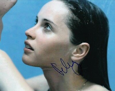 Felicity Jones Signed  In Like Crazy  8X10  Star Wars Rogue One  Photo W Coa  2