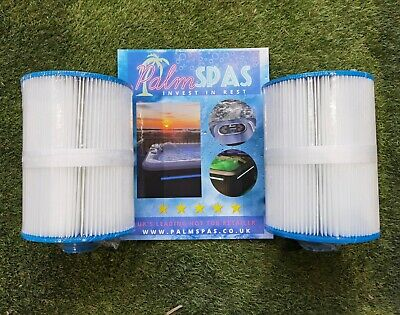 PALM SPAS HOT TUB FILTERS PS01 SPRITZ COLADA MAYA COSMO ONYX DUAL LOUNGR TRIDENT