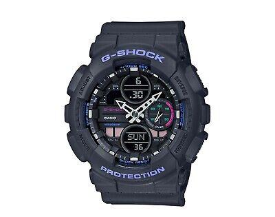 Authentic G-Shock Women's S-Series Analog Digital Grey Watch GMAS140-8A