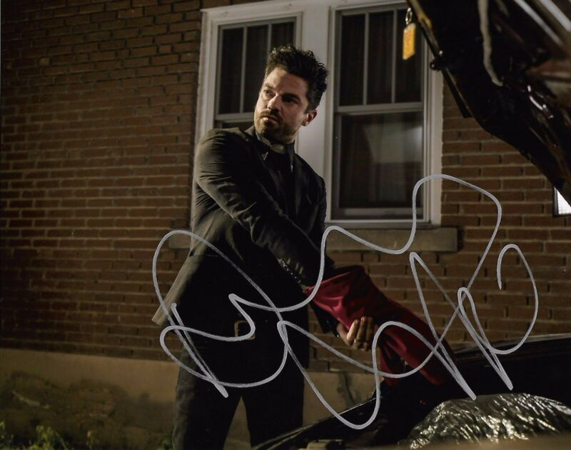 Dominic Cooper Preacher Autographed Signed 8x10 Photo COA #8