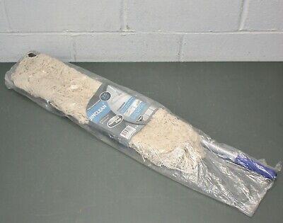 Jinclean 24 Floor Mop W Frame Handle Cotton Dustmop Head Metal Handle