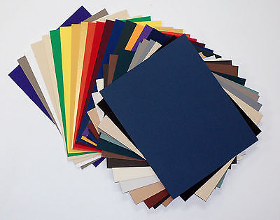 Matboard Mat Board 11x14, 50 Pack, No Opening, Uncut, Solid Assorted Colors