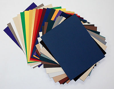 Matboard Mat Board 11x14, 25 Pack, No Opening, Uncut, Solid Assorted Colors