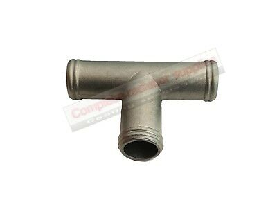 16 mm OD Stainless Steel 3 Way T-Piece|Radiator Hose Connector