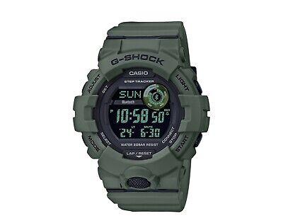 Casio G-Shock Olive Green Step Tracker – Bluetooth – Digital Watch GBD800UC-3A