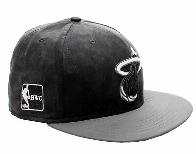 - New Era 59Fifty Miami Heat BF Suede Top Men's Fitted Hat 5950