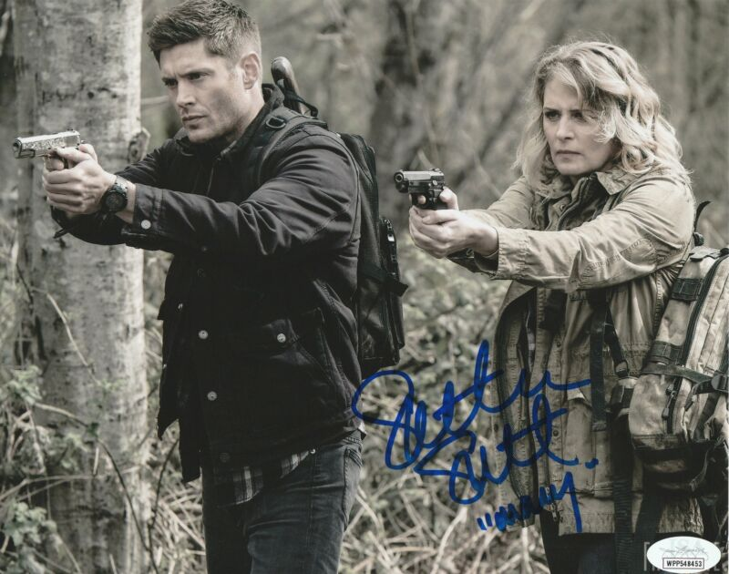 Samantha Smith Autograph 8x10 Photo Supernatural Mary Winchester Signed JSA COA