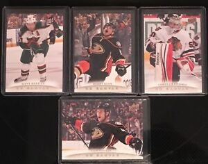 10 card lot of 2011-12 UD Canvas Cards