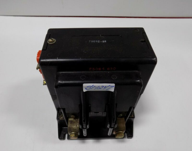 RELIANCE ELECTRIC DEFINITE PURPOSE CONTACTOR 78092-8R
