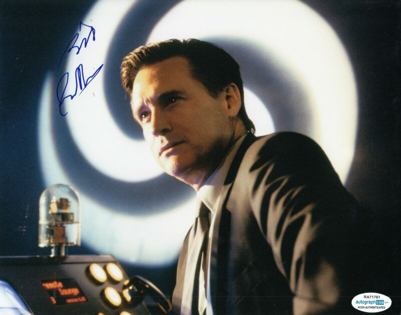 BILL PULLMAN signed (INDEPENDENCE DAY) Movie 8X10 *President Whitmore photo ACOA